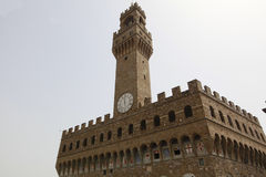 Palazzo Vecchio in Florence, Tuscany, Italy. Stock Images