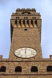 Palazzo Vecchio, Florencia Fotografía de archivo