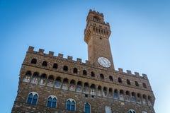 Palazzo Vecchio Florencia Foto de archivo libre de regalías