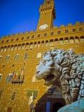 Palazzo Vecchio, Florencja -, Włochy Obrazy Stock