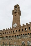 Palazzo Vecchio - Florenz Stockfotografie