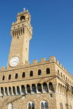 Palazzo Vecchio Florenz Lizenzfreies Stockfoto