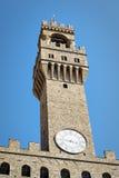 Palazzo Vecchio Florenz Stockbild