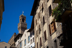 Palazzo Vecchio in Florenz, Italien Lizenzfreies Stockfoto