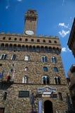 Palazzo Vecchio in Florenz, Italien Lizenzfreies Stockbild