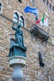 Palazzo Vecchio i Florence, Italien Royaltyfria Bilder
