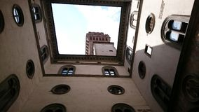 Palazzo Vecchio interior courtyard Stock Photography