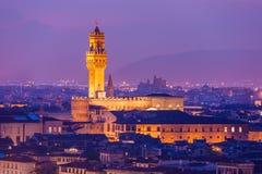 Palazzo Vecchio Royalty Free Stock Photos