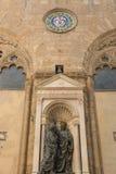 Palazzo Vecchio in Marktplatz della Signoria in Florenz Stockfotografie