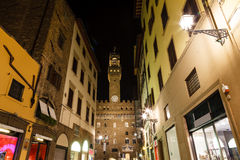 The Palazzo Vecchio (Old Palace) Stock Photos