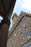 The Palazzo Vecchio Old Palace, Florence royalty free stock photo