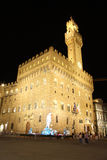 Palazzo Vecchio - Old Palace - in Florence (Italy) Royalty Free Stock Photography