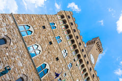 Palazzo Vecchio (Old Palace) in Florence Stock Images