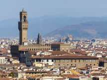 Palazzo Vecchio - The Old Palace, Florence Stock Images