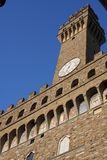 The Palazzo Vecchio or Old Palace - the town hall of Florence in Italy Stock Photography