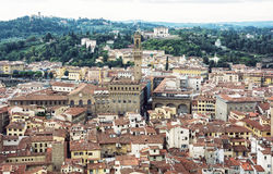 Palazzo Vecchio (palácio velho), Florença, Itália, herança cultural Fotografia de Stock Royalty Free