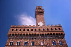 Palazzo Vecchio Palacein viejo Florencia, Italia imagenes de archivo