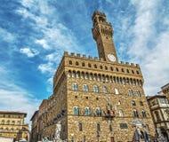 Palazzo Vecchio in Piazza della Signoria in Florence Royalty Free Stock Photo