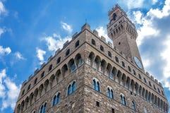 Palazzo Vecchio in Piazza della Signoria in Florence Stock Photography