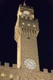 Palazzo Vecchio on Piazza della Signoria, Florence, Stock Photo