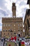 Palazzo Vecchio at piazza della Signoria, Florence, Tuscany Stock Image
