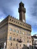 Palazzo Vecchio portrait hdr Stock Images