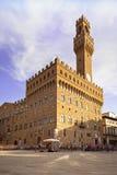 Palazzo Vecchio, quadrato di Signoria, Firenze, Italia. Fotografia Stock Libera da Diritti