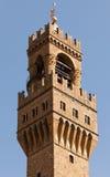 Palazzo Vecchio's tower Stock Image