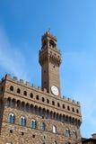 Palazzo Vecchio in Signoria Square, Florence Stock Photo