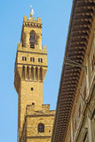 Palazzo Vecchio tower Royalty Free Stock Photo