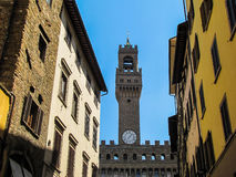 Palazzo Vecchio, Tower Stock Photography
