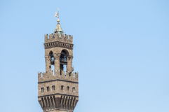 The Palazzo Vecchio, town hall of Florence, Italy. Stock Images