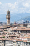 The Palazzo Vecchio, town hall of Florence, Italy. Royalty Free Stock Images