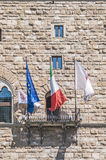 The Palazzo Vecchio, town hall of Florence, Italy. Royalty Free Stock Photography