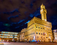Palazzo Vecchio, the town hall of Florence Stock Photo