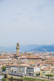 The Palazzo Vecchio, the town hall of Florence, Italy. Stock Photos
