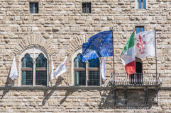 The Palazzo Vecchio, the town hall of Florence, Italy. Royalty Free Stock Image