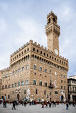Palazzo Vecchio, town hall in Florence, Italy. Stock Image