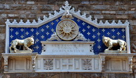The Palazzo Vecchio is town hall of Florence, Royalty Free Stock Photos