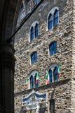 Palazzo Vecchio urząd miasta Florencja, Włochy Zdjęcia Stock