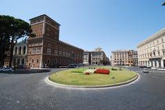 Palazzo Venezia, Piazza Venezia, Piazza Venezia, landmark, sky, town square, city. Palazzo Venezia, Piazza Venezia, Piazza Venezia is landmark, city and building royalty free stock image