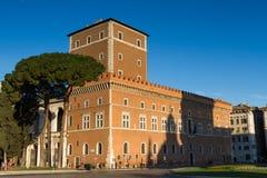 Palazzo Venezia w wczesnego poranku świetle Obraz Stock