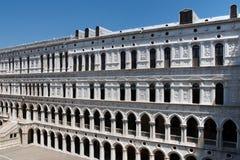 palazzo venice för dogesducaleitaly slott Arkivbild