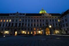 Palazzo Vienna di Hofburg Immagini Stock Libere da Diritti