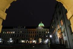 Palazzo Vienna di Hofburg Fotografie Stock Libere da Diritti