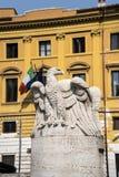 Palazzo Viminale штабы итальянского министерства интерьера в Риме Стоковая Фотография