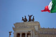 Palazzo Vittorio Emanuele. In Rome,Italy Stock Photo