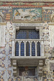 Palazzo in Vittorio Veneto lizenzfreies stockbild