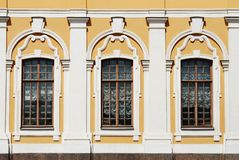 Palazzo Windows Immagine Stock