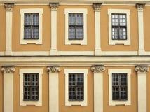 Palazzo Windows Fotografia Stock Libera da Diritti